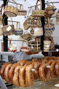 baskets and donuts